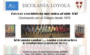 Inscripción a la Escolanía Loyola (curso 2019/20)