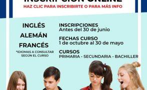 Extraescolares de idiomas con Clen College (curso 2019/20)