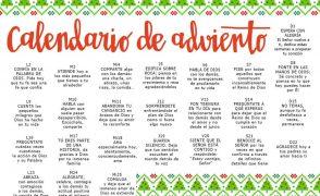 Calendario de Adviento 2019