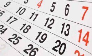 Calendarios escolares 2020/21 y menú (septiembre 2020)
